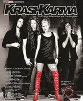 "KRASHKARMA auf Tournee mit Debütalbum ""Straight To The Blood""."