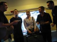 A-Cappella Hamburg: Quartett singt im Hamburger Hauptbahnhof