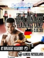 16.05. bis 21.05.2011 Remy Bonjasky K-1 Trainingscamp