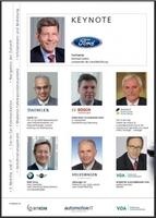 """carIT - """"Das vernetzte Automobil"""" - Der Kongress zum Top-Thema der Automobilindustrie"""