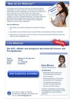 Kostenloses Live-Webinar für Zahnärzte und das Praxisteam