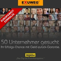 Franchise mit Erfolgsgarantie! EXUWEG bietet Interessenten Geld-zurück-Erfolgsgarantie.