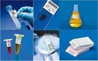 Laboretiketten für den Einsatz in flüssigem Stickstoff und Autoklaven