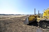 Erster Spatenstich - neuer Fricke Landmaschinen Standort in Bockel