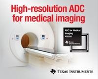 Texas Instruments führt ersten 16-Bit-Vierkanal-A/D-Wandler mit 100 MSPS für schnellere, kleinere Geräte zur medizinischen Bildgebung ein