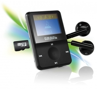 """Pearl Mini-MP3 Player """"DMP-160.mini"""" mit MicroSD Slot"""