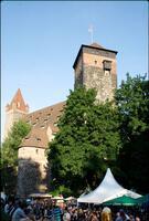 14. fränkisches Bierfest im Burggraben zu Nürnberg