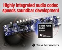 showimage Schnellere Soundbar-Entwicklung mit TIs neuem und hoch integriertem Audio-Codec