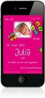 """Des p""""tits bonheurs führt eine App ein, mit der eine Geburt vom iPhone aus angezeigt werden kann"""