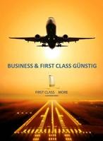 Günstige First und Business Class Tickets mit 60 bis 90% Rabatt