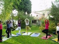 Yoga und Wandern in der Haute Provence