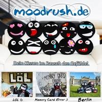 Ein Jahr moodrush.de – Drei Studenten entwickeln mit Smiley-Kissen Gefühle zum Anfassen