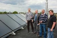 Mieter der J. E. Schmitt Grundstücksgesellschaft profitieren von regenerativen Energien