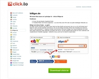 click.to-App verpasst billiger.de den Turbo-Boost
