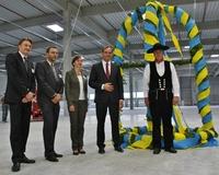 Goodman: Richtfest für das neue Logistikzentrum von DB Schenker Logistics in Leipzig