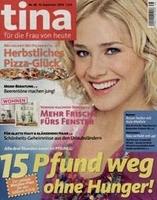 Neu im LeserService AboShop: tina - Magazin Abonnement