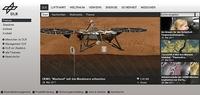 Website des Deutschen Zentrums für Luft- und Raumfahrt (DLR) überzeugt mit neuem, von UNICBLUE konzipiertem Redesign