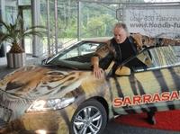 Der Tiger ist los: Sarrasani und Honda Fugel präsentieren Special-Edition des Honda CR-Z