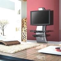 Formvollendetes TV-Rack für moderne Flachbildschirme
