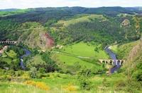 Wandern im Tal des Allier