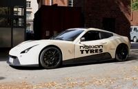 Öko-Fahrspaß mit dem Elektro-Sportwagen ERA auf Nokian-Eco-Reifen bei der e-miglia-Rallye