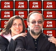 Matthias Carras und Uwe Busse On Air mit Roland Rube & Ariane Kranz