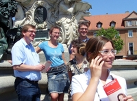 Erlangen mit dem Audio-Guide per Handy entdecken