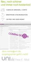 Der Countdown läuft! Neues Design für UNI.DE Free E-Mail im September 2011