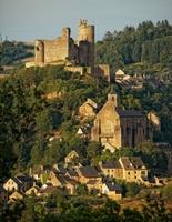 Wandern durch mittelalterliche Stätten