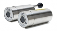 Non-contact temperature measurement with new Infrared Pyrometer in metal, steel, glass and other industrial applications