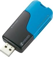 "Conrad USB-Kartenleser ""Blue Capless"""