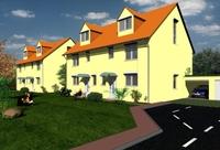 Friedberg (Hessen): Richtfest für die letzten Eigenheime in neuem Wohngebiet