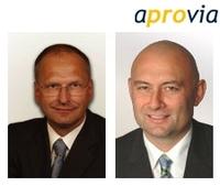 Doppelte Verstärkung im Team von aprovia Management