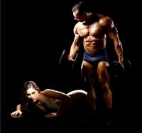 Schneller Muskelaufbau für Sportler