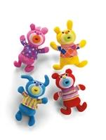 """Die """"Dingsbums"""" kommen! Mit den quietschbunten und fröhlich  singenden Sing-a-ma-jigs! präsentiert Mattel den neuen Kult-Plüsch  2011"""