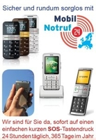 MobilNotruf24: Mobil und sicher in ganz Europa unterwegs   mit Notruf- und Servicepaketen per Handy