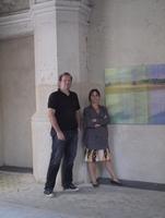 Engeln und Seibt eröffneten gemeinsame Ausstellung in Berliner Zionskirche