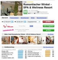 Hotel Romantischer Winkel Nummer eins in Niedersachsen