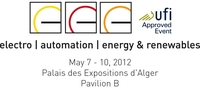 "electro, automation, energy & renewables - Algeria""s leading trade show focuses on renewable energies and energy efficiency"