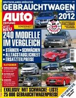 GTÜ-Gebrauchtwagen-Report 2012