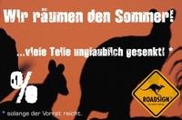 showimage ROADSIGN®australia sagt dem Sommer 2011 Servus und auf  Nimmerwiedersehen