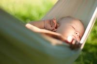 Liegecomfort schläft wie ein Baby