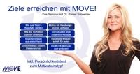 Ziele erreichen mit MOVE: Rabatt für Seminare - jetzt in Ihrer Nähe