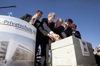 Grundsteinlegung für BiL-Schule in Bad Cannstatt