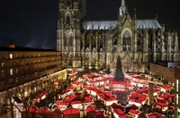 Weihnachtsmarkt am Kölner Dom 2011