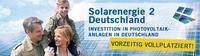 Solarenergie 3 Deutschland von Neitzel & Cie. kommt in Kürze mit 8 % Frühzeichnerbonus!