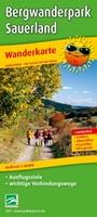 Neue Wanderkarte für den Bergwanderpark Sauerland bei PUBLICPRESS