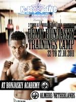 Trainingscamp mit dem 3 maligen K-1 Champion Remy Bonjasky