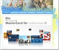showimage Die ganze Welt der Prepaid MasterCards auf der neuen prepaid-mastercard.de Seite