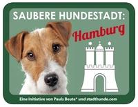 Saubere Hundestadt: Hamburg